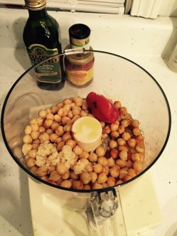 Hummus Ingredients