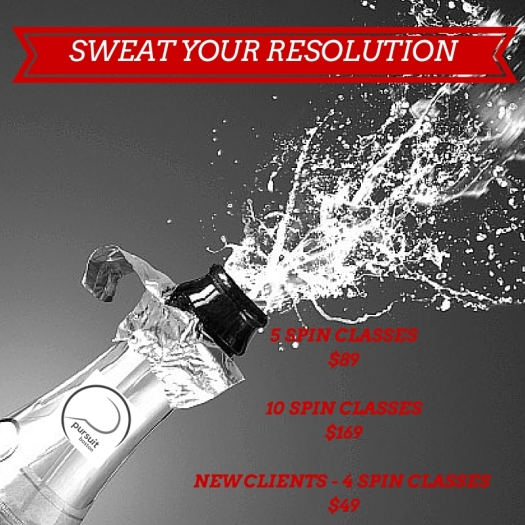 SWEAT YOUR RESOLUTION